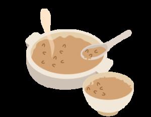 茶粥イラスト