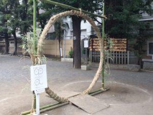 茅の輪写真