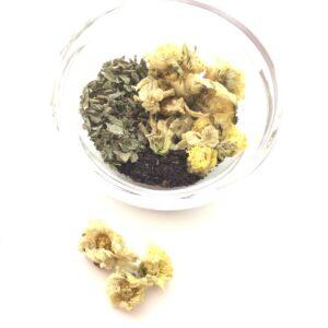 菊花薄荷茶素材画像